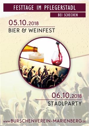 Bier- und Weinfest & Stadlparty